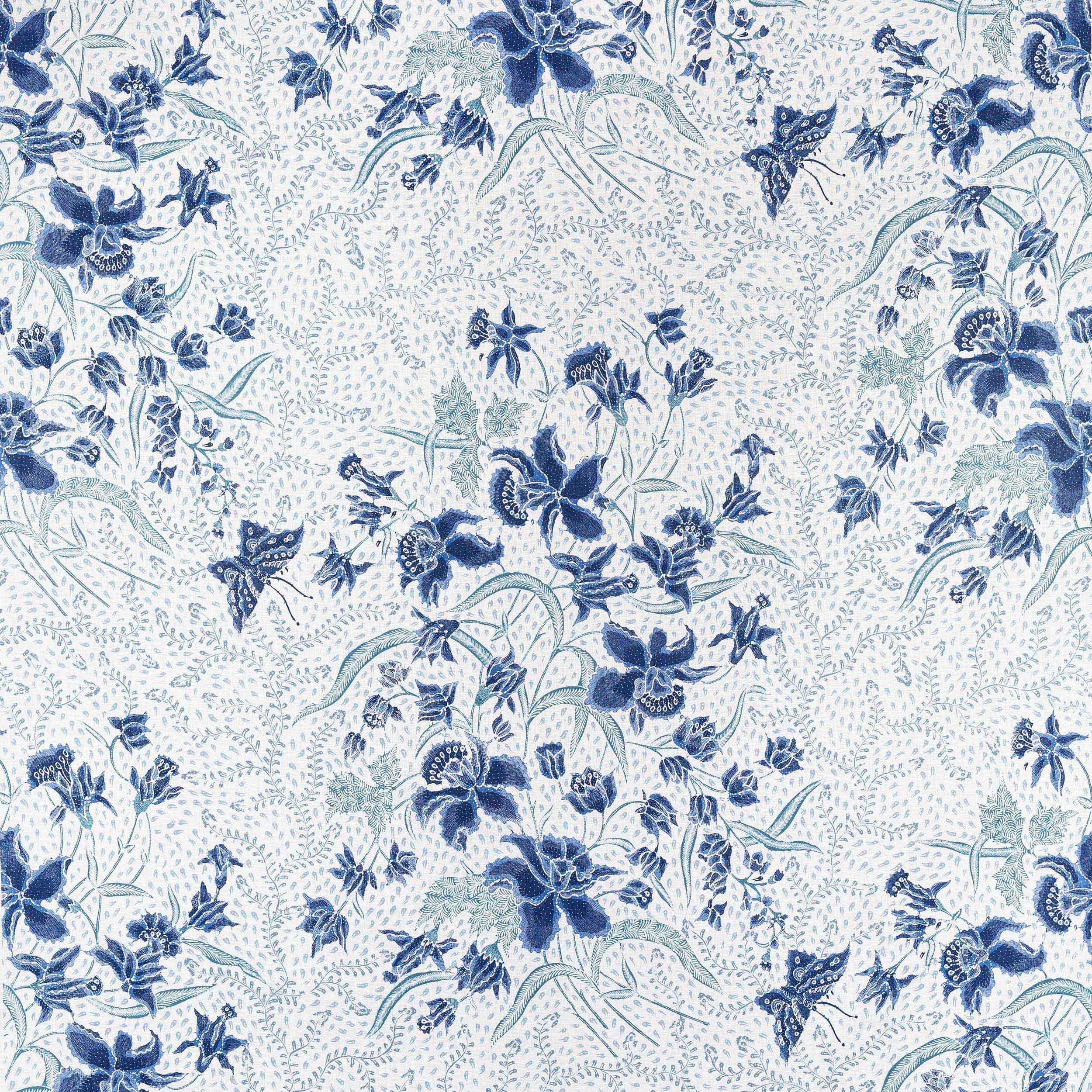 balinese garden fabric cowtan design library